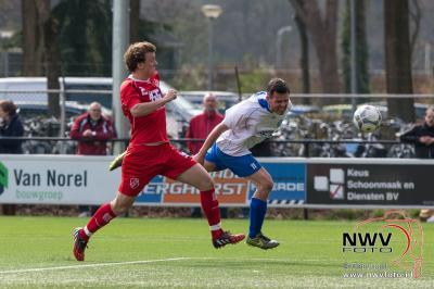 09-04-2016 Voetbal derby WZC tegen vvSEH 4-1 - ©NWVFoto.nl