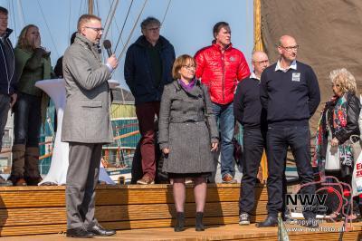17-03-2016 Opening nieuw havenkantoor Elburg. - ©NWVFoto.nl