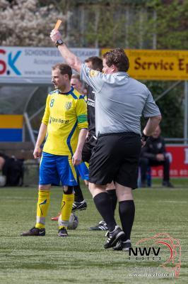 16-04-2016 Voetbal Ezc '84 tegen Elspeet 0-5 in Epe - ©NWVFoto.nl