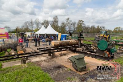 30-04-2016 Oltimerdag aan de Oostendorperstraatweg Oosterwolde. - ©NWVFoto.nl