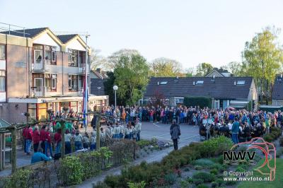 Dodenherdenking op 't Harde Eperweg en bij Marriposa 05-04-2016 - ©NWVFoto.nl