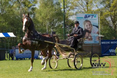 Tuigpaardenconcours voor de 35 ste maal gehouden in Doornspijk onder leiding van Henk en Mech Fikse - ©NWVFoto.nl