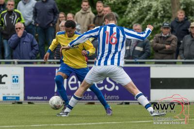 Foto's: vv Nunspeet verliest met 3-5 van KHC uit Kampen 14-05-2016 - ©NWVFoto.nl