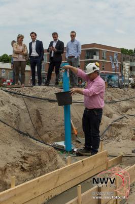 Start bouw tweede fase Centrumplan 't Harde 18-05-2016  - ©NWVFoto.nl