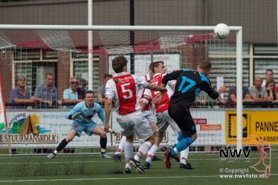In de nacompetitie is het vv Oene gelukt thuis via strafschoppen te winnen van vv Hulshorst. - ©NWVFoto.nl
