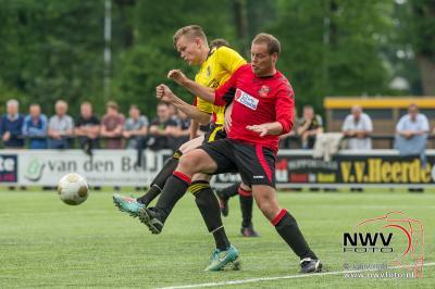 Heerde pas laat bij de les tegen Holten  - ©NWVFoto.nl