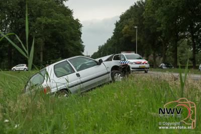 Ongeval meerdere auto's Zuiderzeestraatweg N308 58,5 Wezep - ©NWVFoto.nl