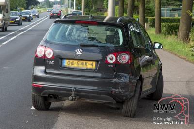 Kopstaart ongeval Zuiderzeestraatweg t.h.v. TinQ Doornspijk. - ©NWVFoto.nl