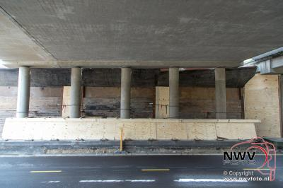 Sloop viaduct A28 - N309 op 't Harde afgerond.  - ©NWVFoto.nl