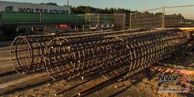 Vorderingen vernieuwing viaduct A28 over N309 Eperweg 'tHarde - ©NWVFoto.nl