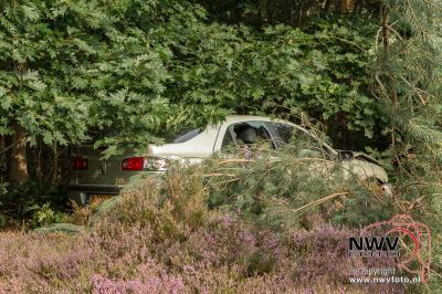 Eenzijdig ongeval A28 links 78.1 Wezep > 't Harde. - ©NWVFoto.nl
