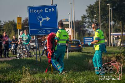 Meisje zwaargewond bij verkeersongeval op de Gerichtenweg Elburg. - ©NWVFoto.nl
