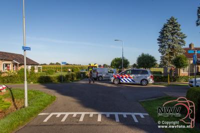 Ongeval Bovenheigraaf kruising Stationsweg Oldebroek. - ©NWVFoto.nl