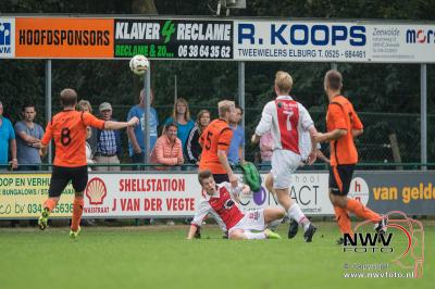 Dsv '61 heeft ritme terug en pakt drie punten door met 4 -1 van Oene thuis te winnen. - ©NWVFoto.nl