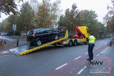 Eenzijdig ongeval Munnikenweg 't Harde. - ©NWVFoto.nl