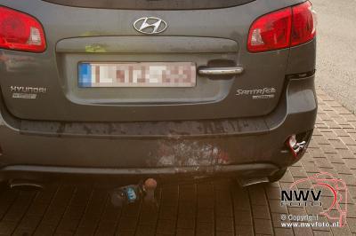 Forse schade bij ongeval Eperweg N309 met Energieweg 't Harde - ©NWVFoto.nl
