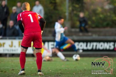Wezep verlies in het beker duel van Nunspeet met 0-3 - ©NWVFoto.nl