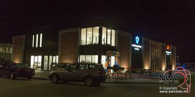 Van Klompenburg hekwerk en beveiliging verhuist naar nieuw pand in Elburg, vrijdagavond was de opening. - ©NWVFoto.nl