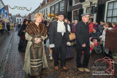 Terug in de tijd tijdens kerst in de vesting Elburg. - ©NWVFoto.nl
