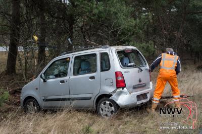 Geen letsel bij eenzijdig ongeval A28 Re 67,8 Nunspeet - ©NWVFoto.nl