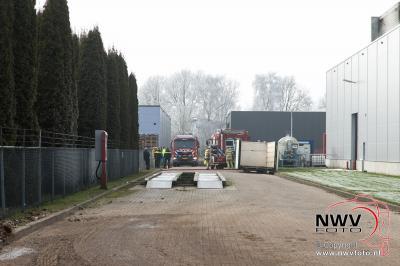 Brand in droogtunnel bij VNK Biddinghuizen - ©NWVFoto.nl