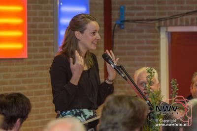 Afscheid burgemeester Frans de Lange in tHuiken Elburg. - ©NWVFoto.nl