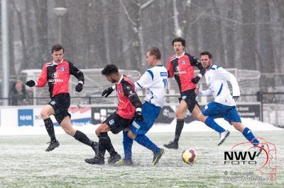 WZC sleept punt binnen, door gelijk te spelen thuis tegen vv SVI. - ©NWVFoto.nl