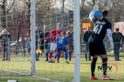 vv Hulshorst haalt de drie punten in laatste minuut binnen. - ©NWVFoto.nl