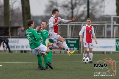Oene slaat toe in spectaculaire slotfase. - ©NWVFoto.nl