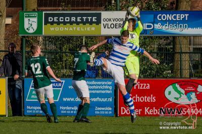 ElburgerSC sterkste in derby op 't Harde. - ©NWVFoto.nl