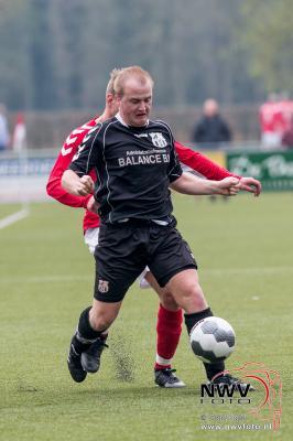 Gemeentelijke derby Hulshorst tegen Elspeet in evenwicht. - ©NWVFoto.nl