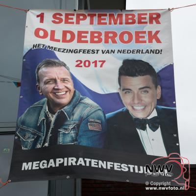 Kaart verkoop Megapiratenfestijn van start in de Talter Oldebroek. - ©NWVFoto.nl