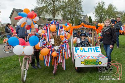 Koningsdag 2017 viering op 'tHarde. - ©NWVFoto.nl