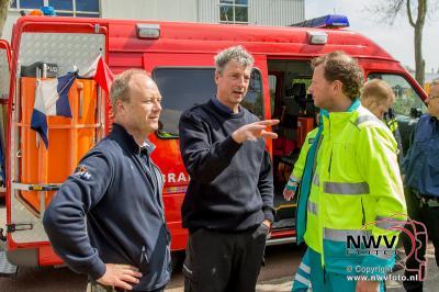 Veel belangstelling voor Reddingbootdag bij KNRM station Elburg - ©NWVFoto.nl