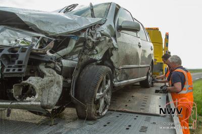 Elburger gewond bij ongeval op Elburgerweg N309 Dronten. - ©NWVFoto.nl