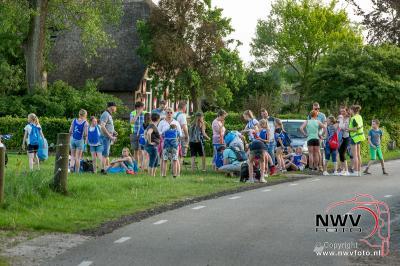 Avondwandel vierdaagse woensdagavond Elburg. - ©NWVFoto.nl