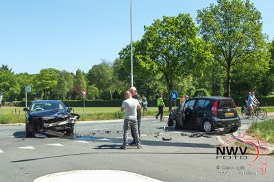 Bestuurder ziet tegenligger op Tongerenseweg Epe over het hoofd. - ©NWVFoto.nl