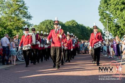 Avondwandel Vier Daagse Doornspijk donderdagavond. - ©NWVFoto.nl