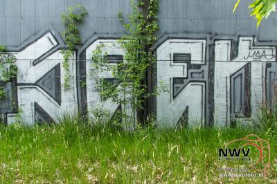 Natuur en Graffiti gaat dit samen. - ©NWVFoto.nl