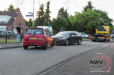 Frontale aanrijding materieel op de Vale Ouwelaan 't Harde - ©NWVFoto.nl
