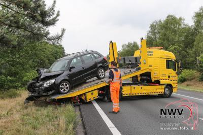 Eenzijdig ongeval A28 t.h.v 't Harde na uitwijkmanoeuvre. - ©NWVFoto.nl