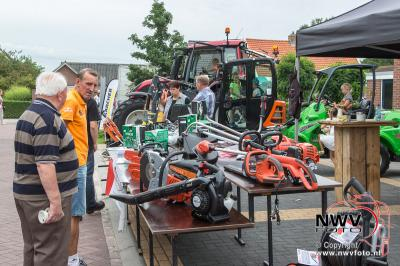 Boerenmarkt Doornspijk trekt weer veel bezoekers. - ©NWVFoto.nl
