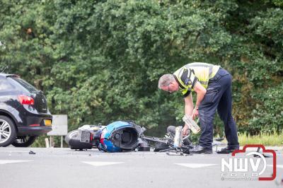 Ongeval 25 km scooter met auto Eperweg N309 - Zuidweg Epe. - ©NWVFoto.nl