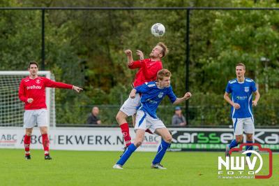 Epe kreunt in tweede klas. - ©NWVFoto.nl