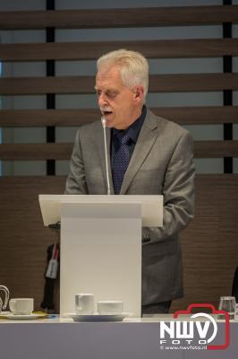 Afscheid waarnemend burgemeester Elburg, Harry Dijksma. - ©NWVFoto.nl