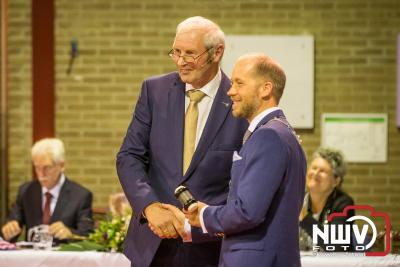 Installatie Jan Nathan Rozendaal als burgemeester van de gemeente Elburg - ©NWVFoto.nl