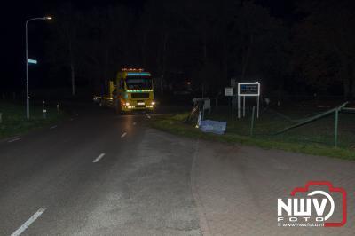 Eenzijdig ongeval Bovenweg Doornspijk. - ©NWVFoto.nl