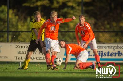 Wissel fortuinlijk winnaar van kelderderby. - ©NWVFoto.nl