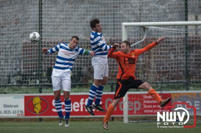Wim de Vries neemt sportieve revanche. - ©NWVFoto.nl