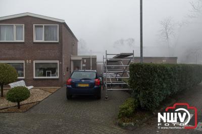 Schuur in de brand Middelweg 't Harde - ©NWVFoto.nl